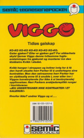 Verso de Gaston (en norvégien) -4a90- Tidlos galskap