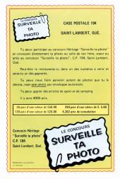 Verso de Le fantôme (Éditions Héritage) -7- Le fleuve sans rivage !