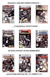 Verso de Le fantôme (Éditions Héritage) -17- Qui a besoin d'ennemis?