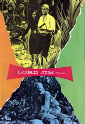 Verso de Movie comics (Gold Key) -509- Lord Jim