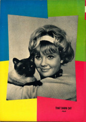 Verso de Movie comics (Gold Key) -602- That Darn Cat