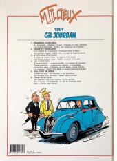 Verso de Gil Jourdan (Tout) -4a1993- Dix aventures