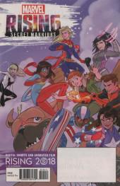 Verso de Free Comic Book Day 2018 - Marvel Rising