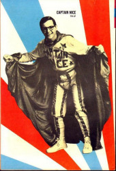 Verso de Movie comics (Gold Key) -711- Captain Nice