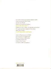 Verso de Tif et Tondu -Cah01- Cahiers Tif et Tondu 1
