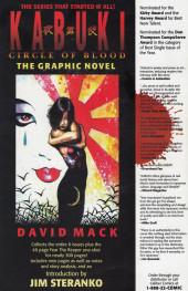 Verso de Kabuki: Skin deep (1996) -1- Kabuki: Skin deep #1