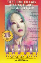 Verso de Kabuki (1997) -1- Kabuki #1