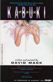 Verso de Kabuki (1997) -4- Kabuki #4