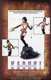 Verso de Kabuki (1997) -5- Kabuki #5