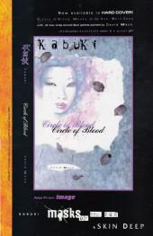 Verso de Kabuki (1997) -6- Kabuki #6