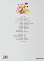 Verso de Garfield -11b2012- Ah, le farniente !