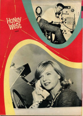 Verso de Movie comics (Gold Key) -609- Honey West