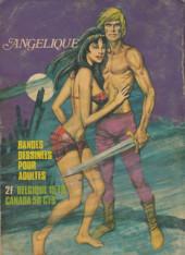 Verso de Angélique (chez Les Éditions de poche) -6- Le desert maudit