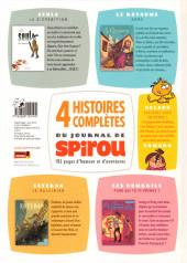 Verso de 4 Histoires complètes du journal de Spirou - Tome 1