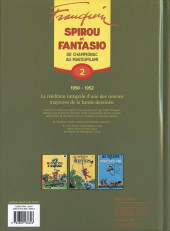 Verso de Spirou et Fantasio -6- (Int. Dupuis 2) -2a09- De champignac au marsupilami