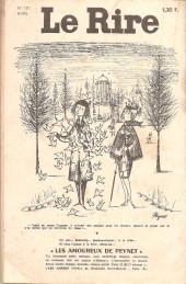 Verso de Le rire -151- Avril 1964