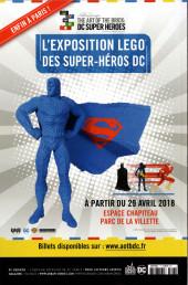 Verso de Justice League - Récit Complet (DC Presse) -7- Le Nouveau Super-Man : Made in China