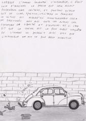 Verso de Gaz d'échappement -3- Gaz d'échappement N°3