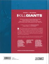 Verso de I Kill Giants
