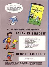 Verso de Les schtroumpfs -2- Le Schtroumpfissime (+ Schtroumpfonie en ut)