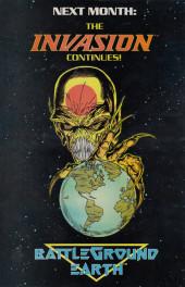 Verso de Invasion! (DC comics - 1988) -1- The alien alliance