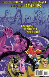 Verso de JLA: World without grown-ups (1998) -1- JLA: World without grown-ups: Book one of two