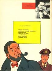 Verso de Blake et Mortimer (Historique) -8a1967- Le Piège diabolique