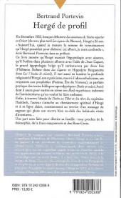 Verso de (AUT) Hergé - Hergé de profil - Une étoile plus mystérieuse du tout !