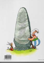 Verso de Astérix -32c2013- Astérix et la rentrée gauloise