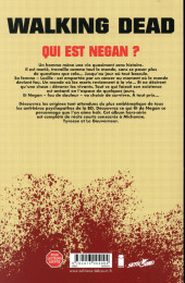 Verso de Walking Dead -HS- Negan