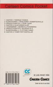 Verso de Spirou et Fantasio (en langues étrangères) -6Suédois- Skuggan av z