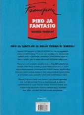 Verso de Spirou et Fantasio (en langues étrangères) -7Finlandais- Zorbul-tarinat