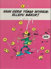 Verso de Gaston (en langues étrangères) -11Islandais- Skyssur og skammarstrik