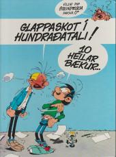 Verso de Gaston (en langues étrangères) -10Islandais- Glennur og glappaskot
