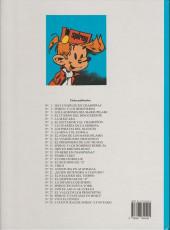 Verso de Spirou y Fantasio (Las aventuras de) -1- Hay un brujo en champiñac