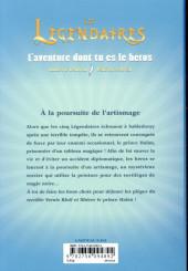 Verso de Les légendaires -HS4- A la poursuite de l'artismage