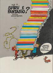 Verso de Spirou et Fantasio (en langues étrangères) -1Italien- Il corno del rinoceronte