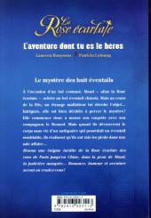 Verso de La rose écarlate -HS1- L'aventure dont tu es le héros - Le mystère des huit éventails