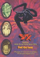 Verso de SPX: Small Press Expo -1998- SPX: Small Press Expo '98