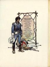 Verso de Blueberry -2d1974- Tonnerre à l'ouest