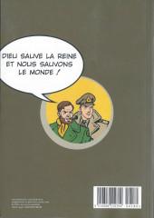 Verso de Blake et Mortimer (Les Aventures de) -MBD18- Le Secret de l'Espadon - Le Monde de la BD - 18