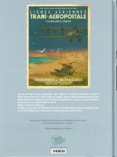 Verso de Le courrier de Casablanca -2- Asmaa