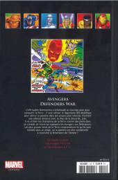 Verso de Marvel Comics - La collection (Hachette) -112XXV- Avengers Defenders War