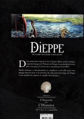 Verso de Dieppe en bd -1- Dieppe : Du Camp de César à nos jours