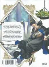 Verso de L'atelier des sorciers -2- Volume 2