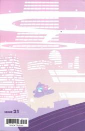 Verso de Paper Girls (Image comics - 2015) -21- Paper Girls