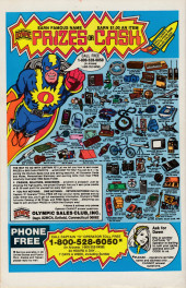 Verso de Marvel Super-Hero Contest of Champions (1982) -2- Chapter 2 First Contest: Frenzy In the Frozen North! Chapter 3 Second Contest: Ghost Town Showdown!