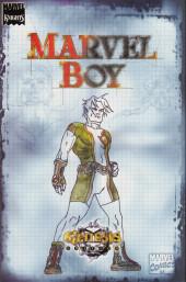 Verso de Marvel Knights / Marvel Boy Genesis Edition (2000) -OS- Marvel Knights/ Marvel Boy genesis edition
