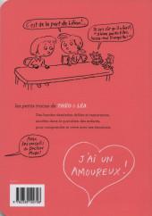 Verso de Les petits tracas de Théo & Léa -10- J'ai un amoureux !