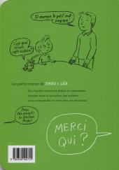 Verso de Les petits tracas de Théo & Léa -11- Merci qui ?